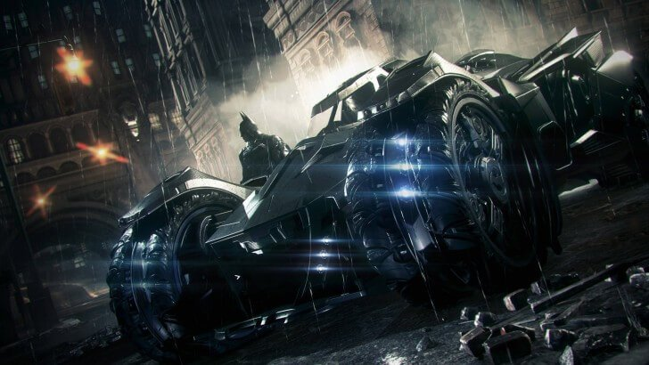 Batmobile - Batman Arkham Knight Wallpaper