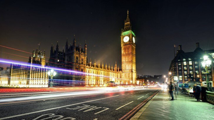 Big Ben at Night Wallpaper
