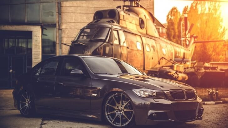 BMW E90 on Z-Performance Wheels Wallpaper
