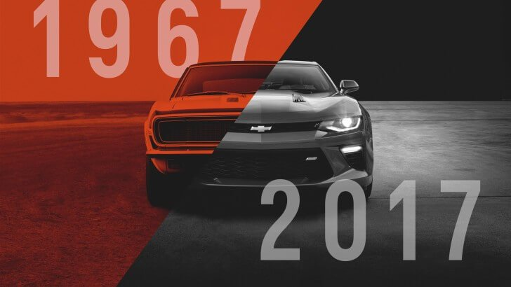 CAMARO 50TH ANNIVERSARY Wallpaper