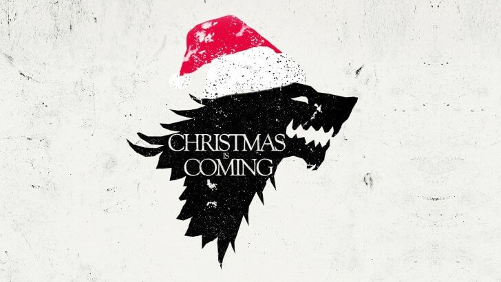 Christmas is Coming Wallpaper