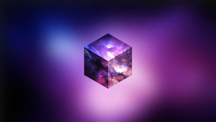 Cosmic Cube Wallpaper