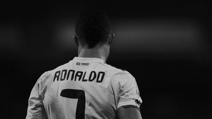 info for 40b36 33fea Cristiano Ronaldo in Black & White Wallpaper - Sports HD ...