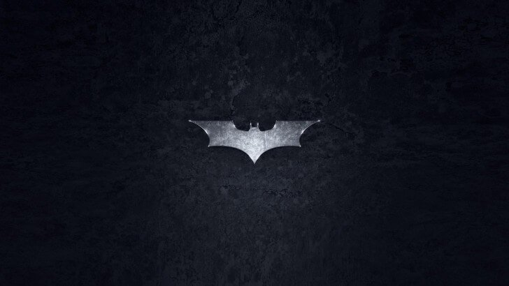 Grungy Batman Dark Knight Logo Wallpaper