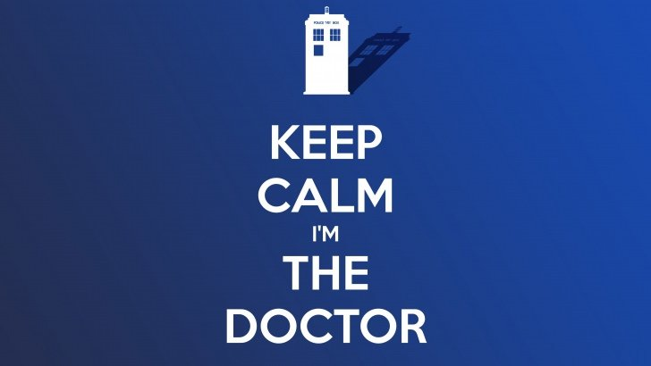 Keep Calm Im The Doctor Wallpaper