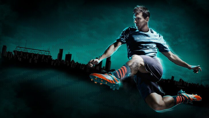 Lionel Messi Adidas Commercial Wallpaper