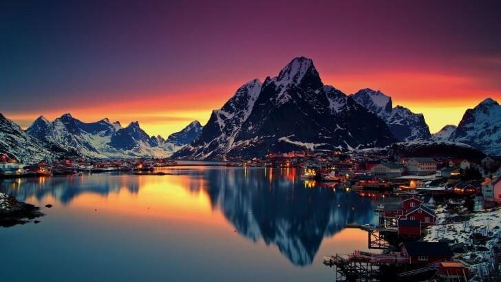 Lofoten Islands, Norway Wallpaper