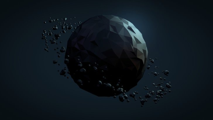 Low Poly Planet Wallpaper 3d Hd Wallpapers