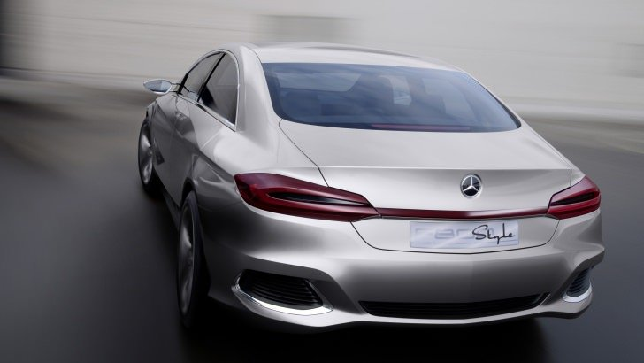 Mercedes Benz F800 Concept Rear View Wallpaper