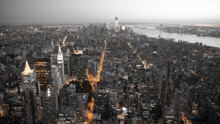 New York City By Night Wallpaper City Architecture Hd Wallpapers Hdwallpapers Net