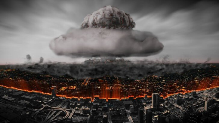Nuclear Mushroom Cloud Wallpaper
