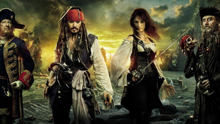 Pirates of the Caribbean: On Stranger Tides Characters Wallpaper