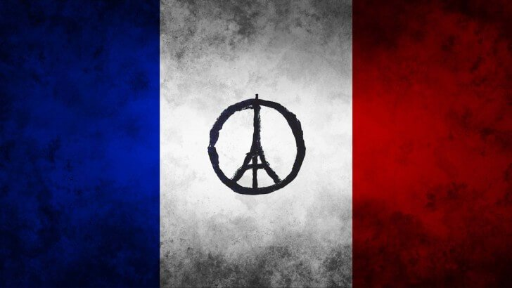 Pray For Paris Wallpaper