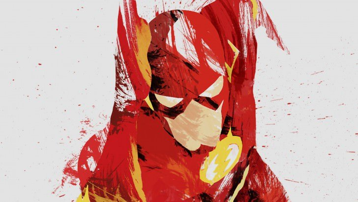 The Flash Illustration Wallpaper - Digital Art HD ... | 728 x 410 jpeg 53kB