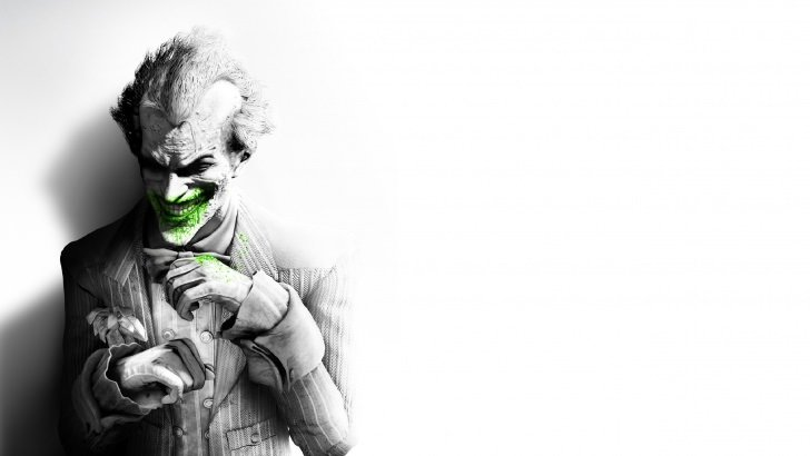 The Joker Black White Portrait Wallpaper Tv Movies Hd