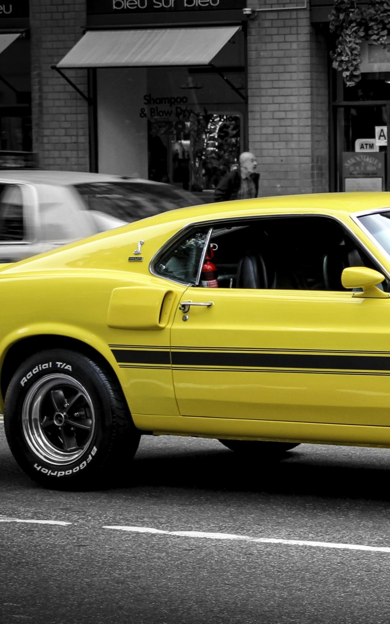 1969 Ford Mustang GT350 Wallpaper for Amazon Kindle Fire HD