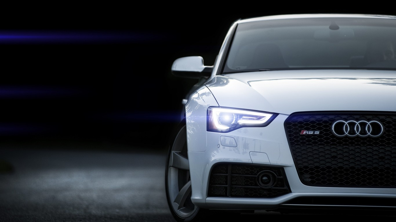 2015 Audi RS 5 Coupe Wallpaper for Desktop 1366x768