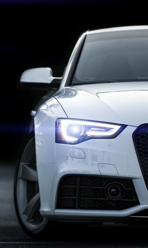 2015 Audi RS 5 Coupe Wallpaper for HTC Desire HD