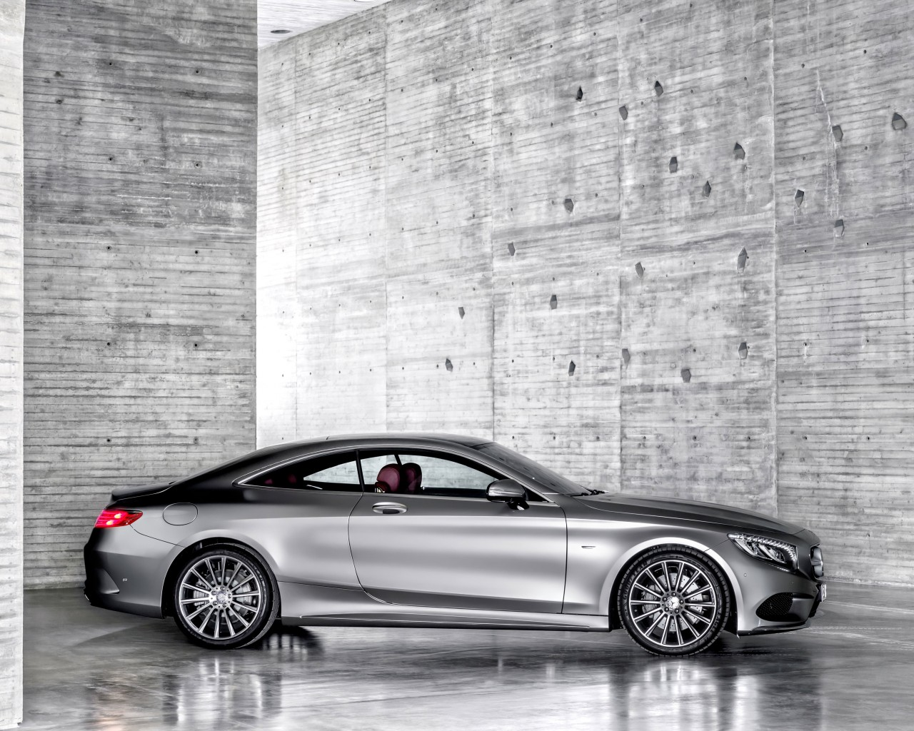2015 Mercedes-Benz S-Class Coupe Wallpaper for Desktop 1280x1024