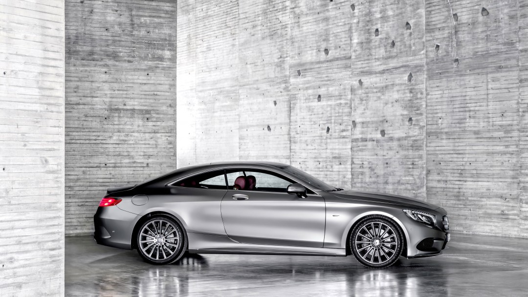 2015 Mercedes-Benz S-Class Coupe Wallpaper for Social Media Google Plus Cover