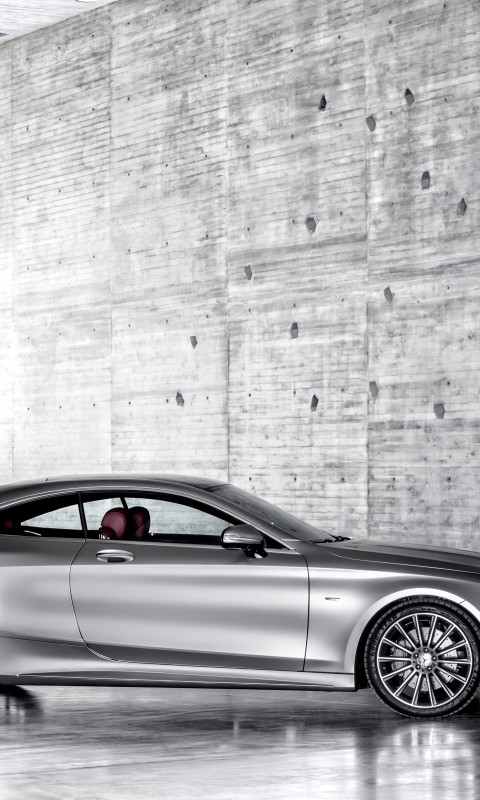 2015 Mercedes-Benz S-Class Coupe Wallpaper for HTC Desire HD