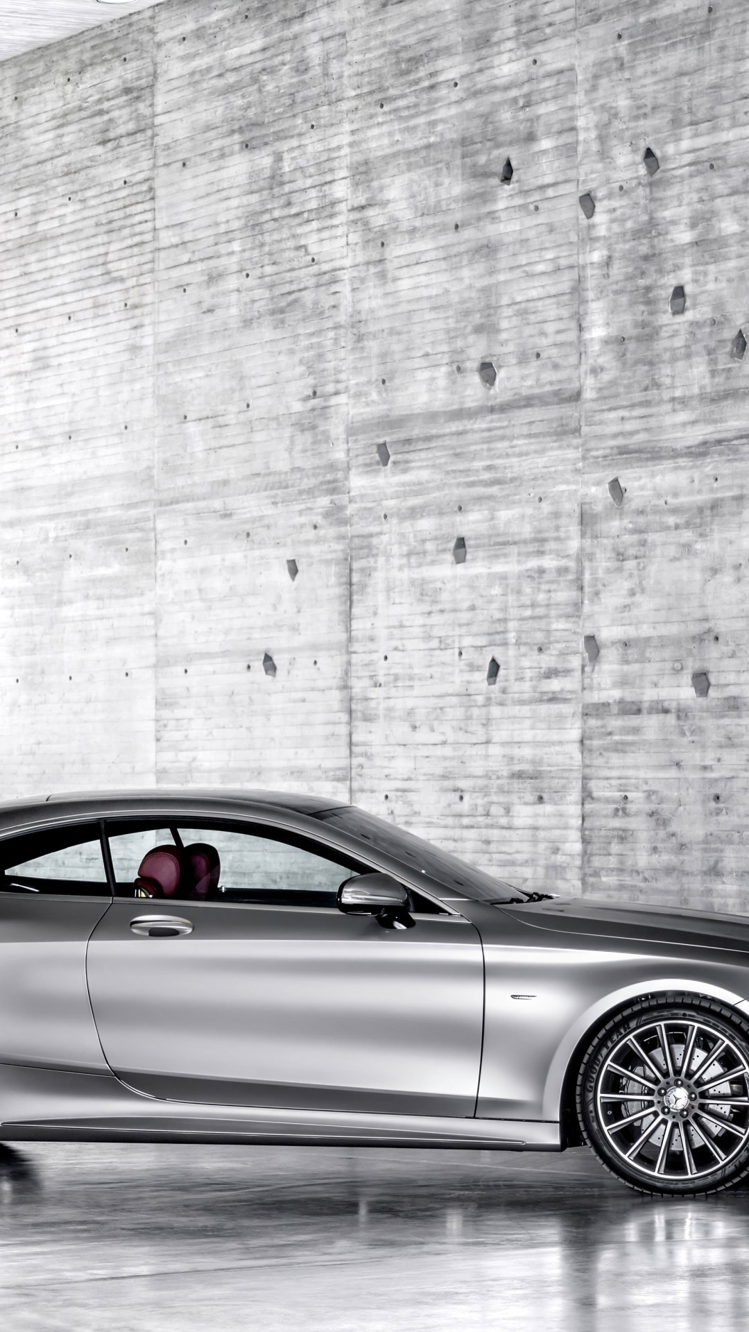 2015 Mercedes-Benz S-Class Coupe Wallpaper for HTC One