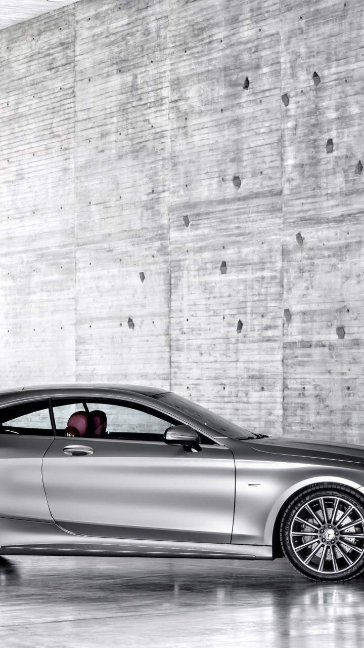 2015 Mercedes-Benz S-Class Coupe Wallpaper for HTC One mini