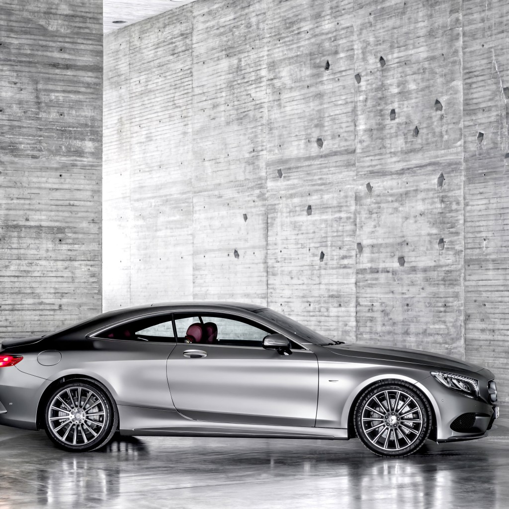 2015 Mercedes-Benz S-Class Coupe Wallpaper for Apple iPad