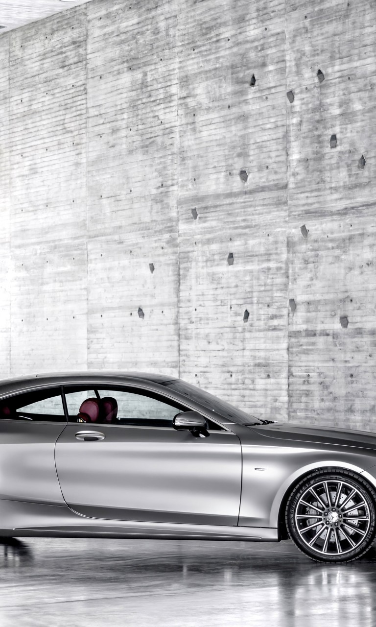 2015 Mercedes-Benz S-Class Coupe Wallpaper for Google Nexus 4