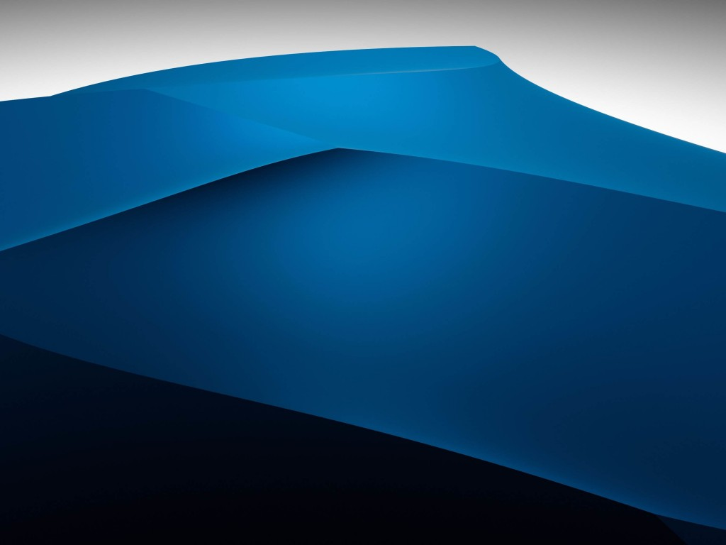 3D Blue Dunes Wallpaper for Desktop 1024x768