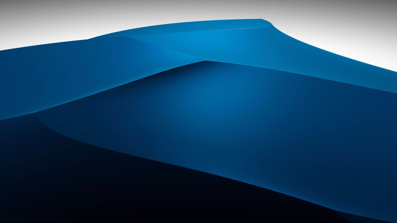 3D Blue Dunes Wallpaper for Desktop 1280x720