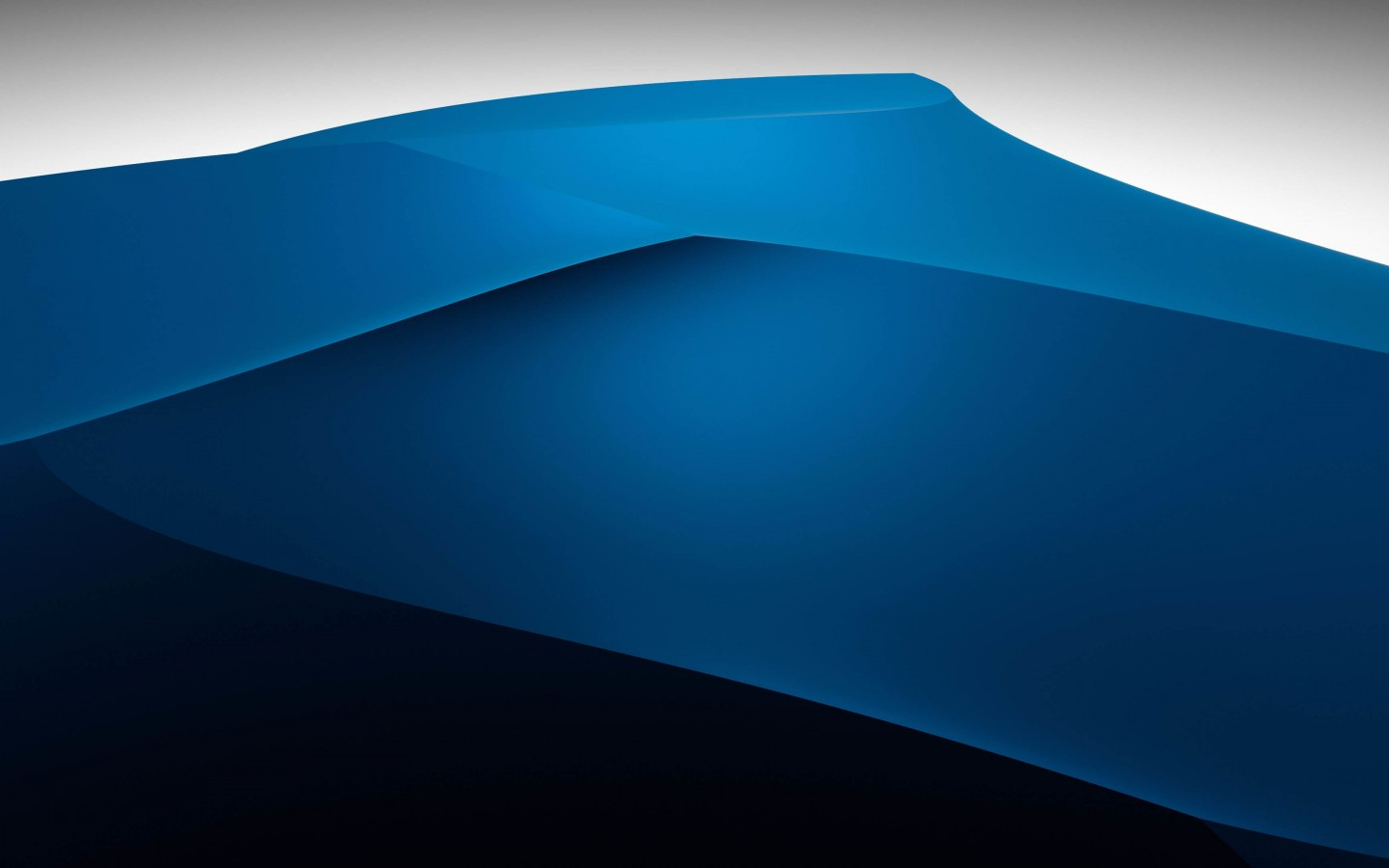 3D Blue Dunes Wallpaper for Desktop 1440x900