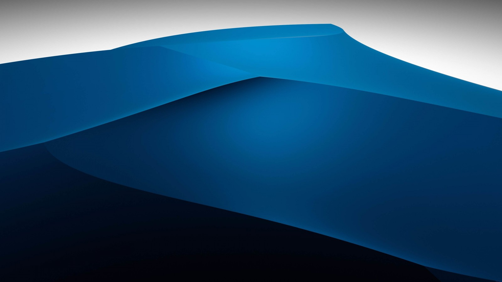 3D Blue Dunes HD wallpaper for 1600x900 screens - HDwallpapers.net Wallpaper