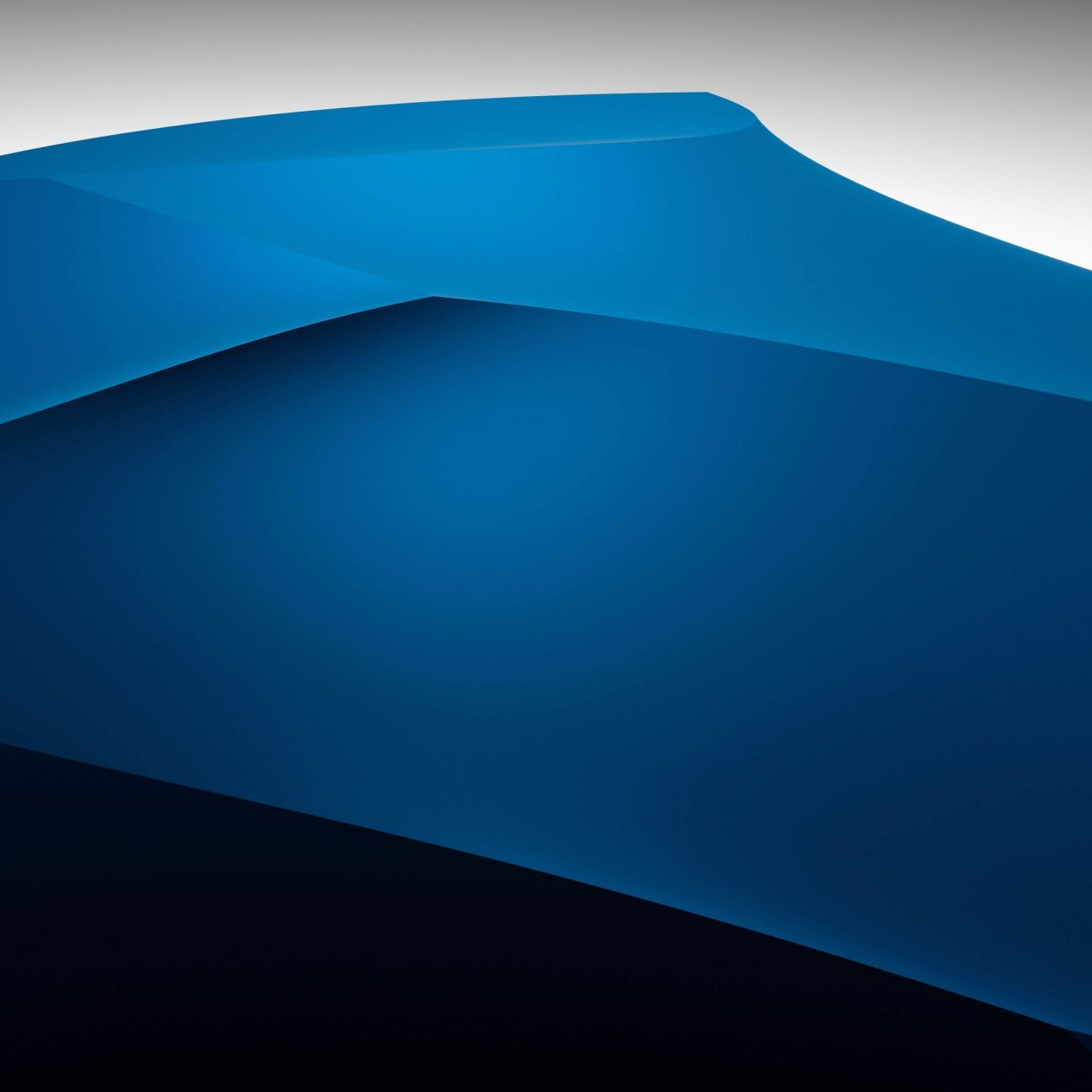 3D Blue Dunes Wallpaper for Apple iPad mini