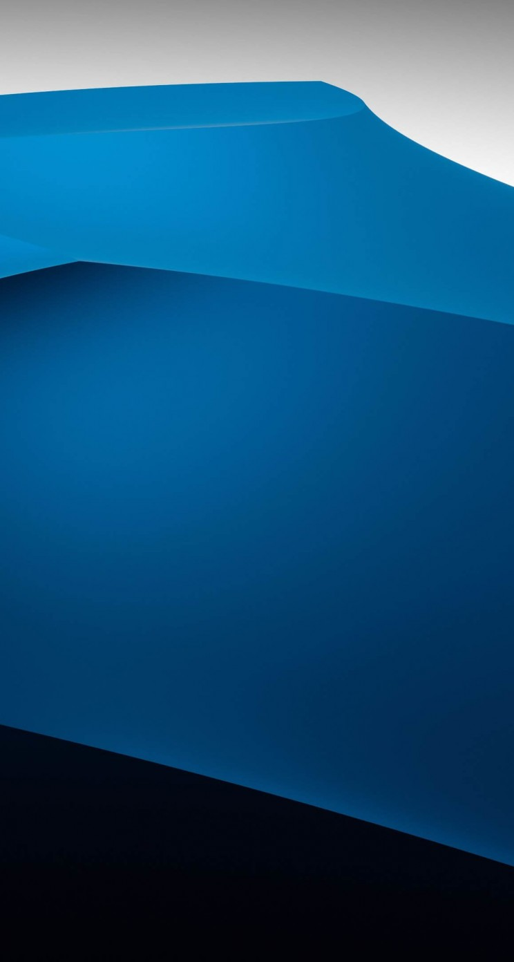 3D Blue Dunes Wallpaper for Apple iPhone 5 / 5s