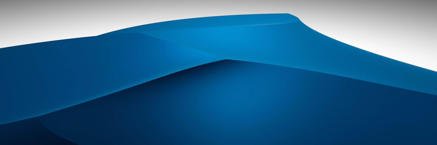 3D Blue Dunes Wallpaper for Social Media Twitter Header