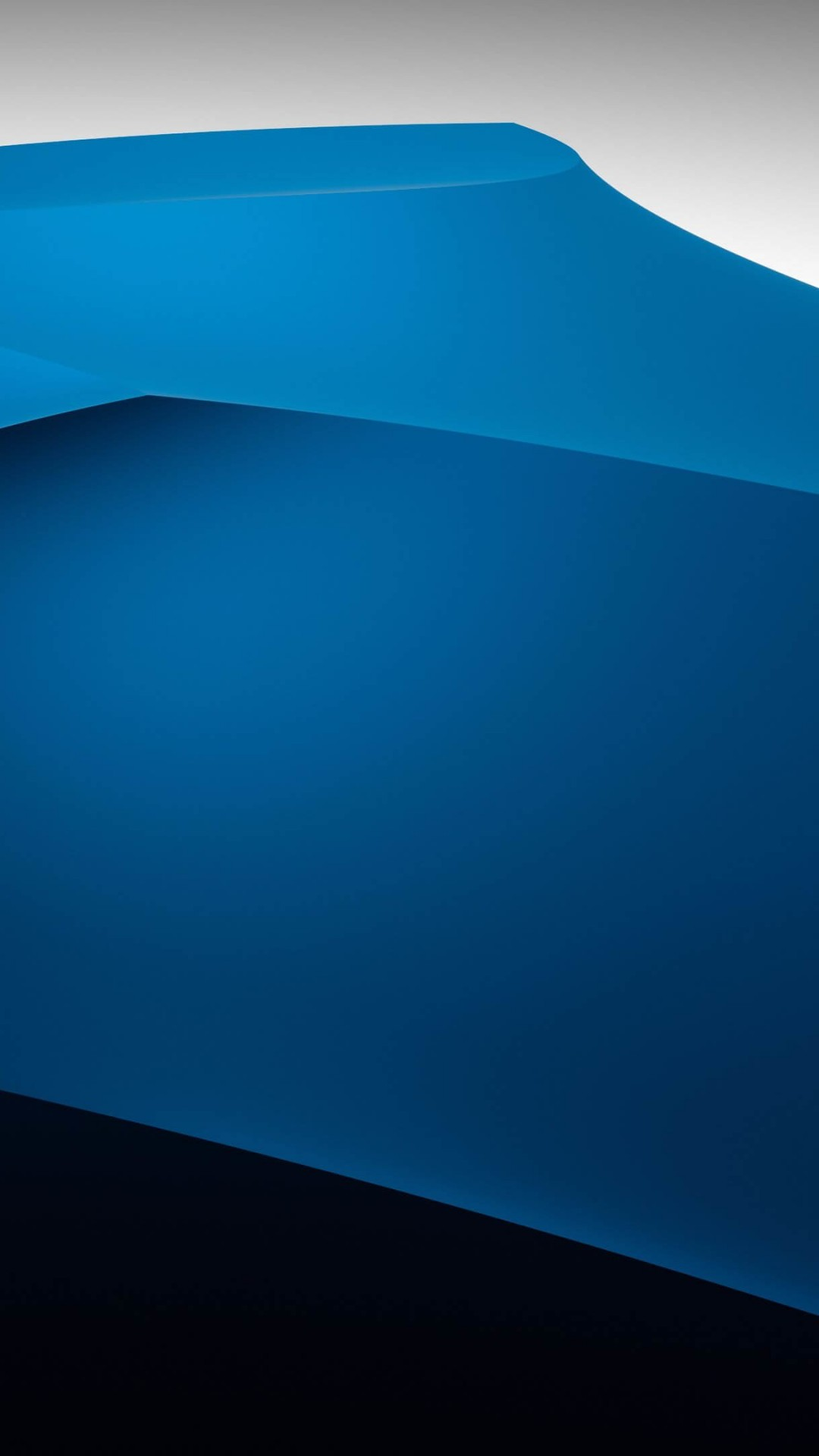 3D Blue Dunes Wallpaper for SONY Xperia Z1