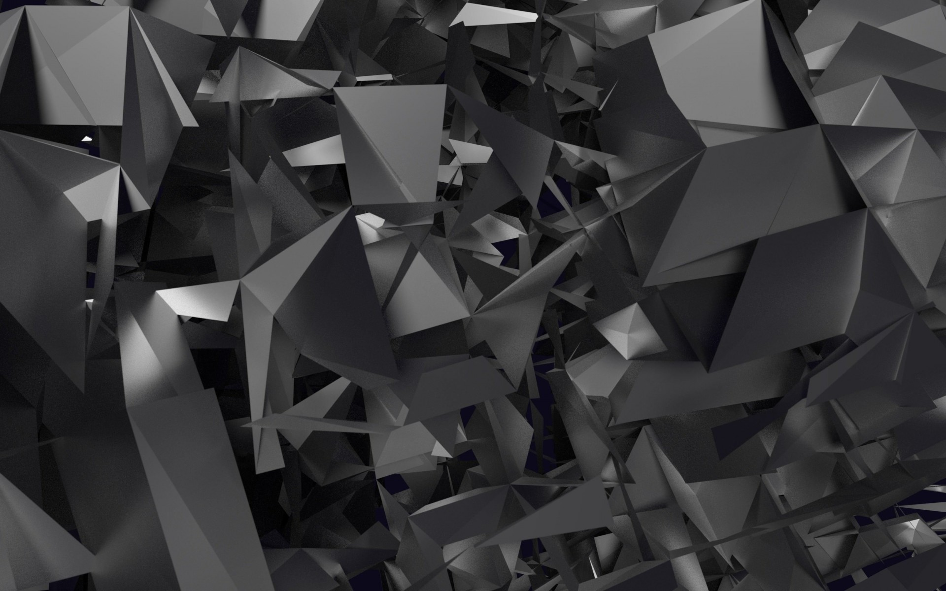 3D Geometry Wallpaper for Desktop 1920x1200