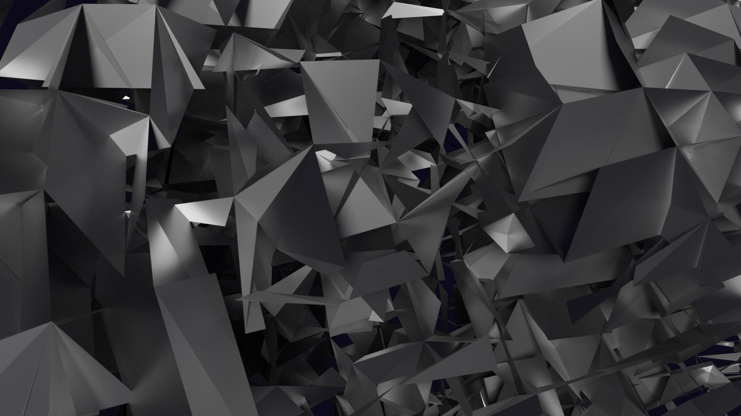 3D Geometry Wallpaper for Desktop 2560x1440
