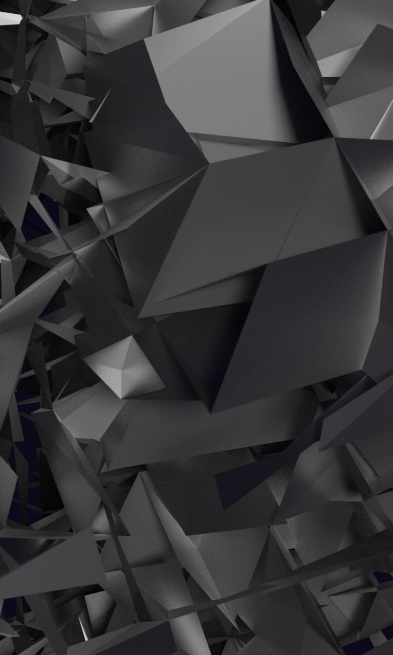 3D Geometry Wallpaper for Google Nexus 4