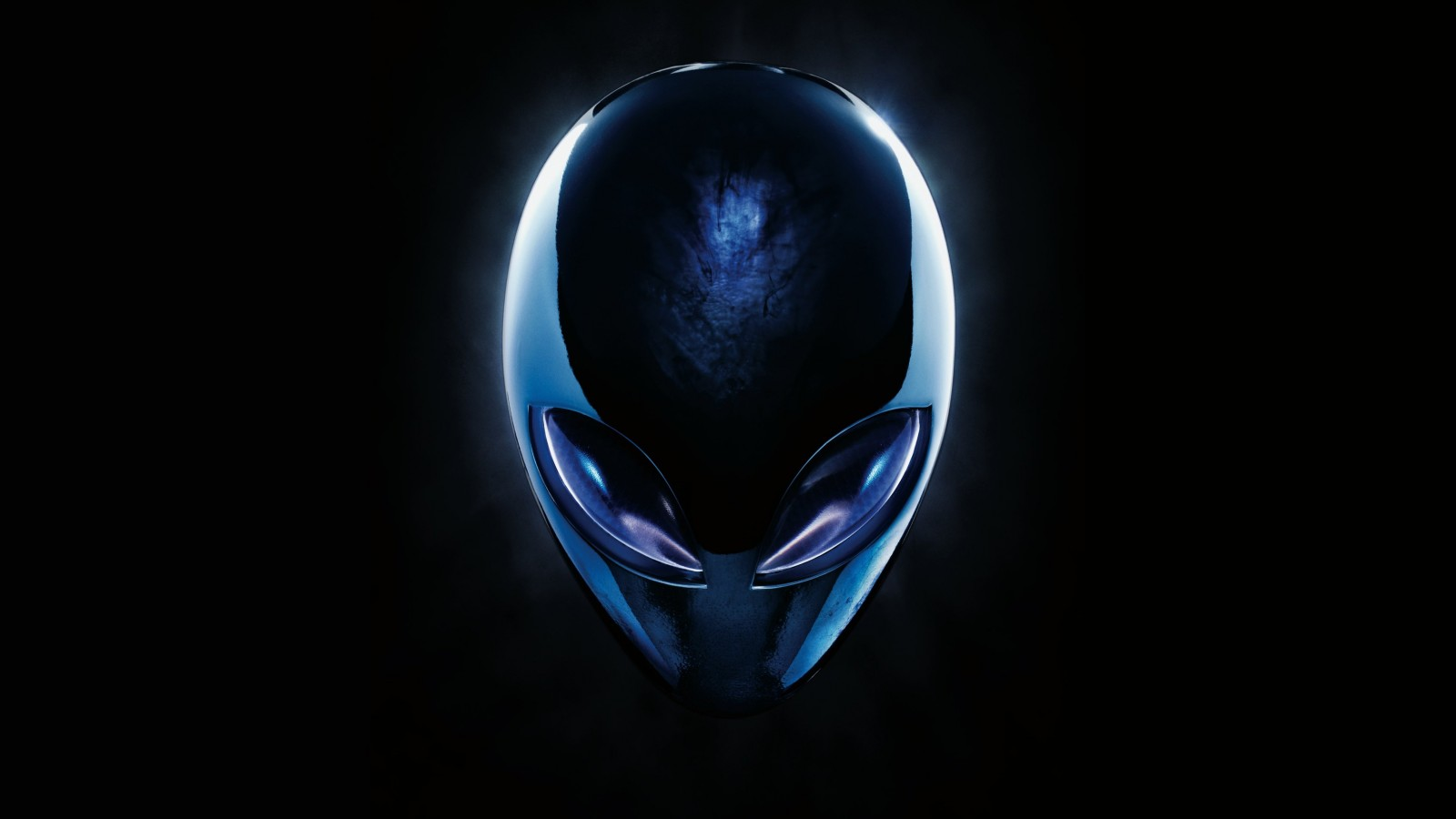 Alienware Blue Logo Wallpaper for Desktop 1600x900