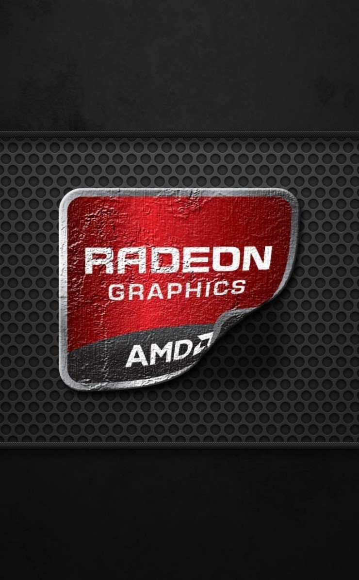AMD Radeon Graphics Wallpaper for Apple iPhone 4 / 4s