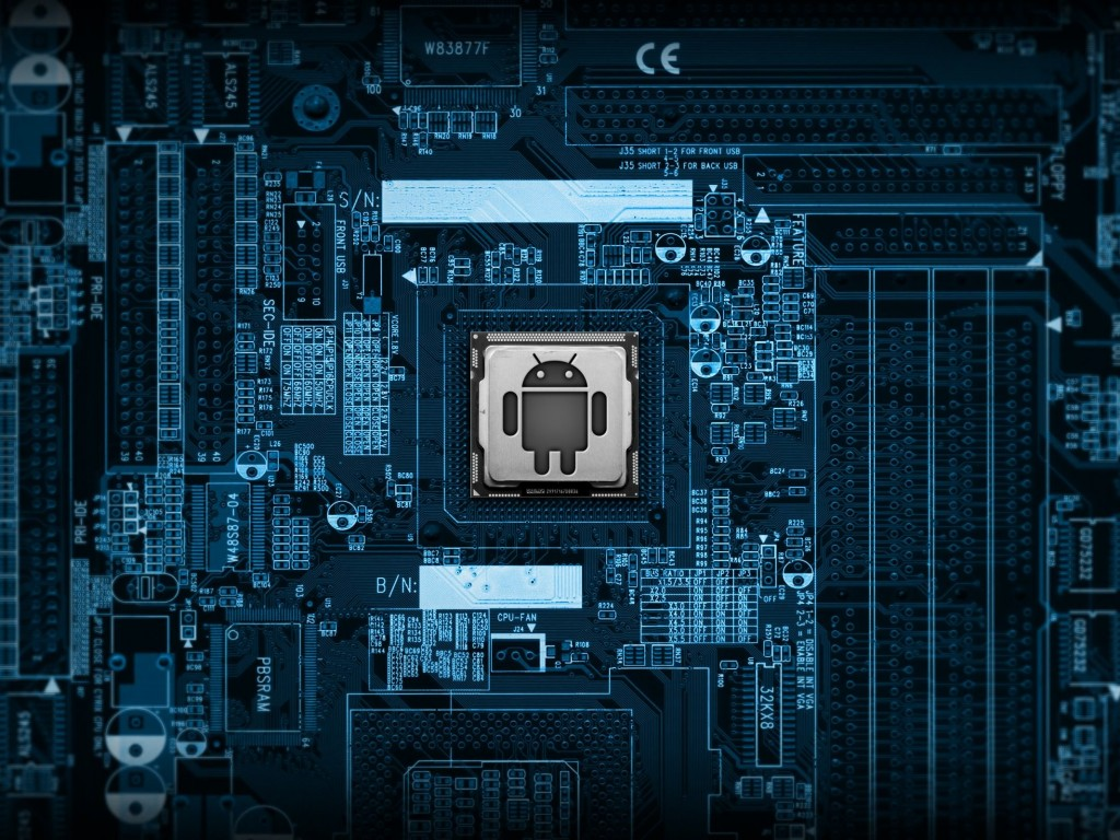 Android Logic Board Wallpaper for Desktop 1024x768