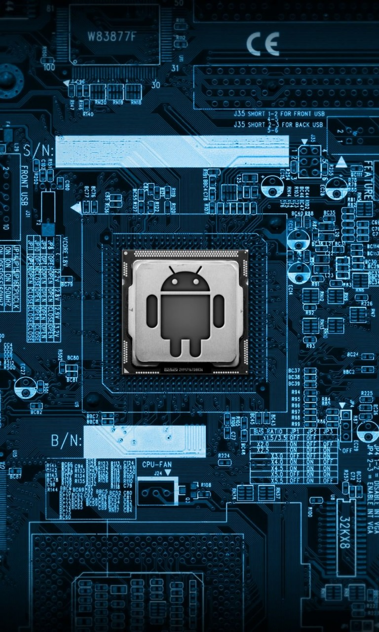 Android Logic Board Wallpaper for Google Nexus 4