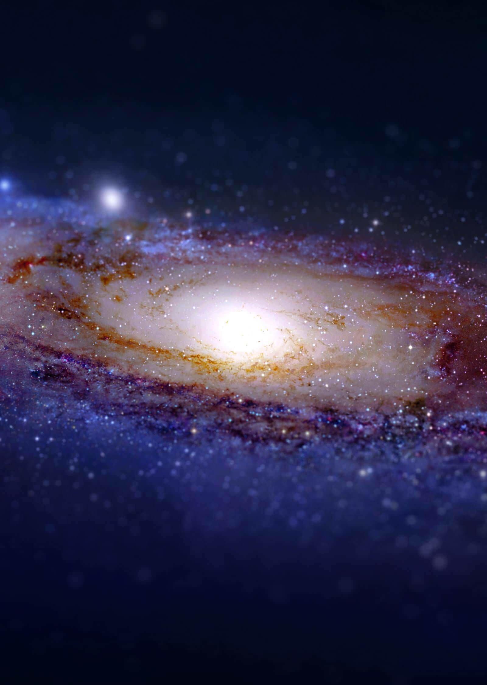 download andromeda galaxy tilt shift hd wallpaper for