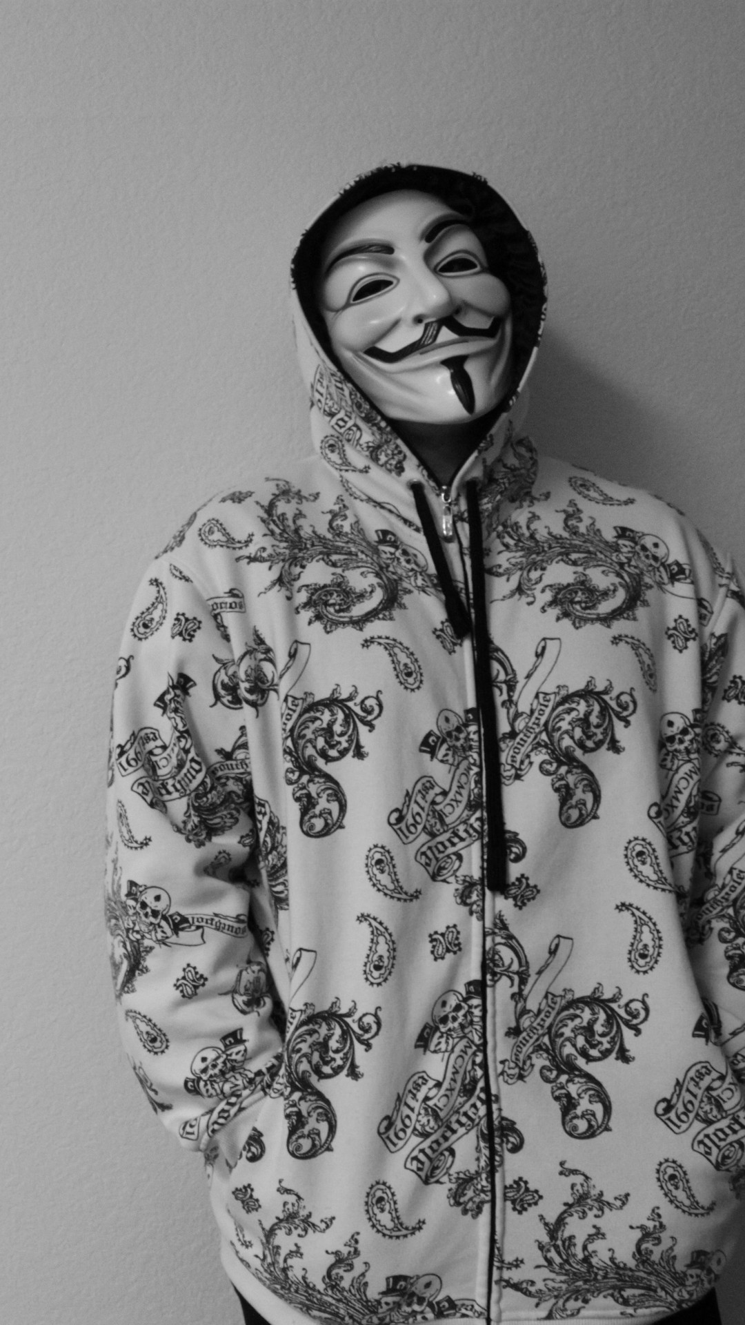 Anonymous Guy Wallpaper for SONY Xperia Z3