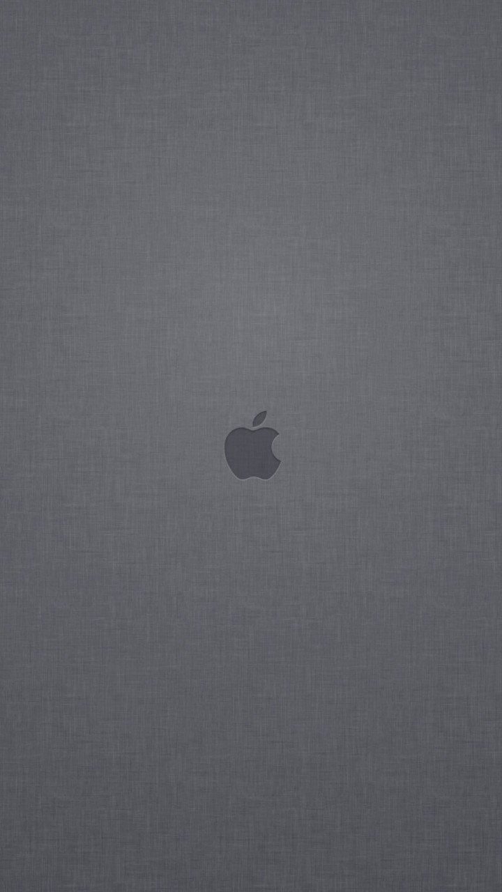 Apple Logo Denim Texture Wallpaper for HTC One mini