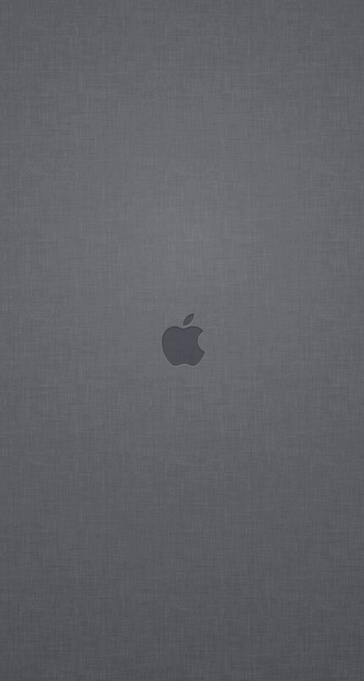 Apple Logo Denim Texture Wallpaper for Apple iPhone 5 / 5s