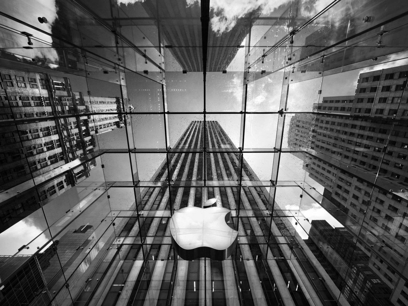 Apple Store, Fifth Avenue, New York City Wallpaper for Desktop 1600x1200