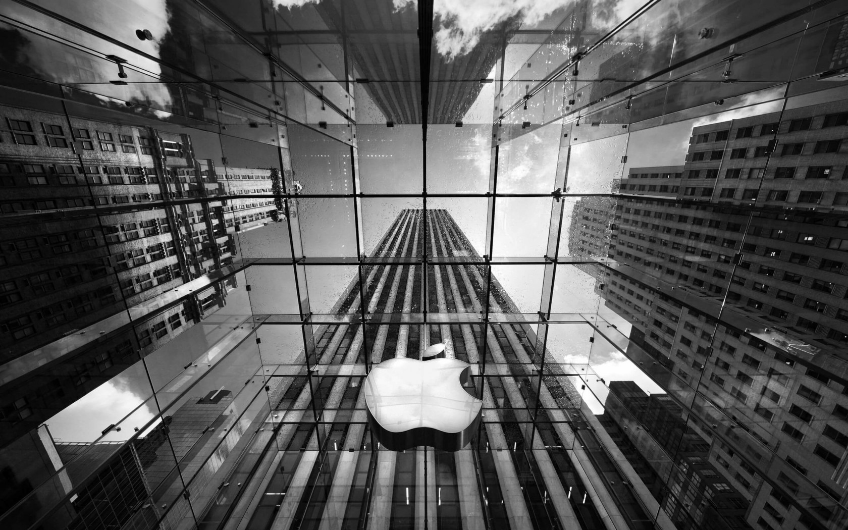 Apple Store, Fifth Avenue, New York City Wallpaper for Desktop 1680x1050
